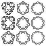 Круговые декоративные элементы для дизайна Стоковые Фотографии RF