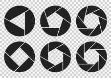 Круговые логотипы Триангулярные формы аранжированные в круге бесплатная иллюстрация