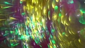 круговые отражения defocused взгляда красочных светов стоковые фотографии rf