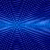 Круговые точки текстурируют в темно-синей предпосылке иллюстрация вектора