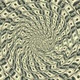 100 круговых долларов орнамента Стоковые Изображения RF