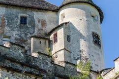 круглая башня замка Стоковые Изображения RF