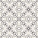 Круглая геометрическая линейная безшовная картина Стоковая Фотография