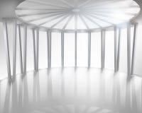 Круглая зала также вектор иллюстрации притяжки corel иллюстрация вектора