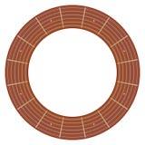 Круглая иллюстрация fretboard гитары иллюстрация штока