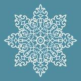 Круглая картина арабескы Стоковые Изображения RF