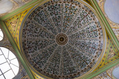 Круглая крыша в дворце Topkapi в Стамбуле Стоковое Изображение RF