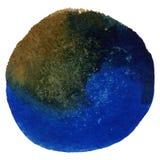 Круглая рамка акварели, форма формы круга Стоковые Фото