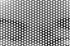 Круглая сетка металла Стоковое Фото