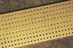 Круглая сетка металла Стоковое фото RF