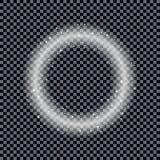 Круглая сияющая предпосылка рамки Влияния звезды рождества EPS10 Vect Стоковое фото RF