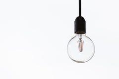 Круглая электрическая лампочка Стоковая Фотография