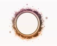 круг знамени флористический Стоковая Фотография RF