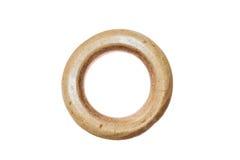 Круг изолированный на белой предпосылке Стоковое Изображение