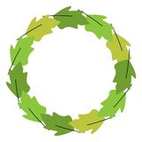 Круг листвы Стоковые Изображения RF