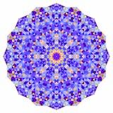 Круг мозаики цифров Стоковые Фотографии RF