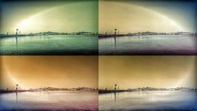 Круг моря Manga Ла Стоковое фото RF