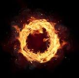 Круг огня Стоковые Изображения