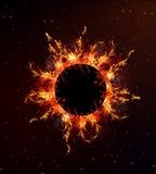 Круг огня Стоковые Фото