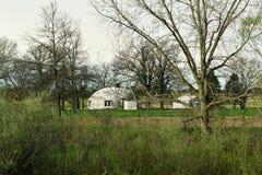 Круглое белое здание Стоковое Фото