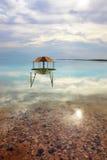 Круглое газебо в воде Стоковое Изображение RF