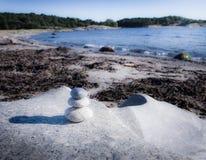 Круглое искусство камней Стоковое Изображение