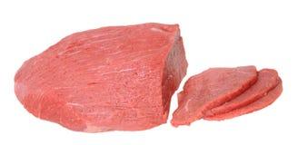 Круглое мясо глаза говядины Стоковое Фото