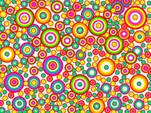 круг предпосылки цветастый Стоковая Фотография