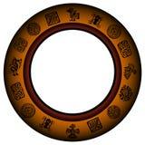 круг рамки мексиканский Стоковая Фотография RF