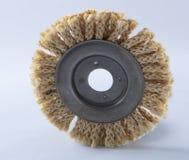 Круг сизаля для угловой машины, используемый для полировать древесину и металлы стоковые изображения