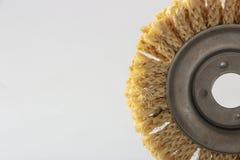 Круг сизаля для угловой машины, используемый для полировать древесину и металлы стоковая фотография rf