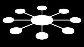 Круг соединяя узлы перевод 3d бесплатная иллюстрация