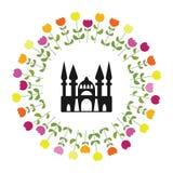 Круг Стамбул тюльпана Стоковая Фотография