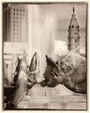 Круг Филадельфии logan Стоковое Изображение