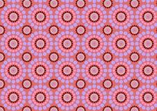 Круг цветет абстрактная картина Стоковое Фото