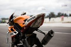 Круг чемпионата 6 Superbike YMF австралийский Стоковое Изображение RF