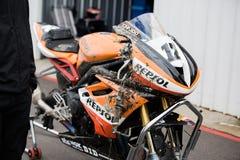 Круг чемпионата 6 Superbike YMF австралийский Стоковое Фото