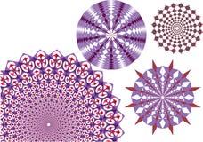 круг щеток Стоковое Изображение RF