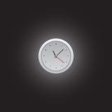 Круглые красочные часы логотипа вектора Стоковые Фото