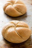 Круглые плюшки сандвича Стоковое Фото