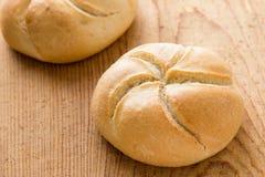 Круглые плюшки сандвича Стоковое фото RF