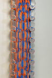 Круглые резинкы игрушки тени радуги красочные Стоковая Фотография