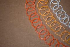 Круглые резинкы Стоковое Фото