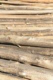 круглые стволы дерева Стоковое Фото