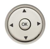 Круглые удаленные кнопки Стоковые Фото