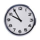 Круглые часы офиса показывают 10 часов Стоковое Изображение
