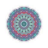 Круглый абстрактный орнамент Стоковое Изображение
