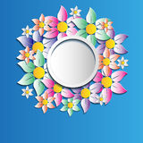 Круглый пузырь речи Стоковые Фотографии RF
