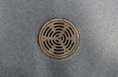 Круглый сток Стоковая Фотография RF