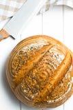 Круглый хлеб стоковое фото